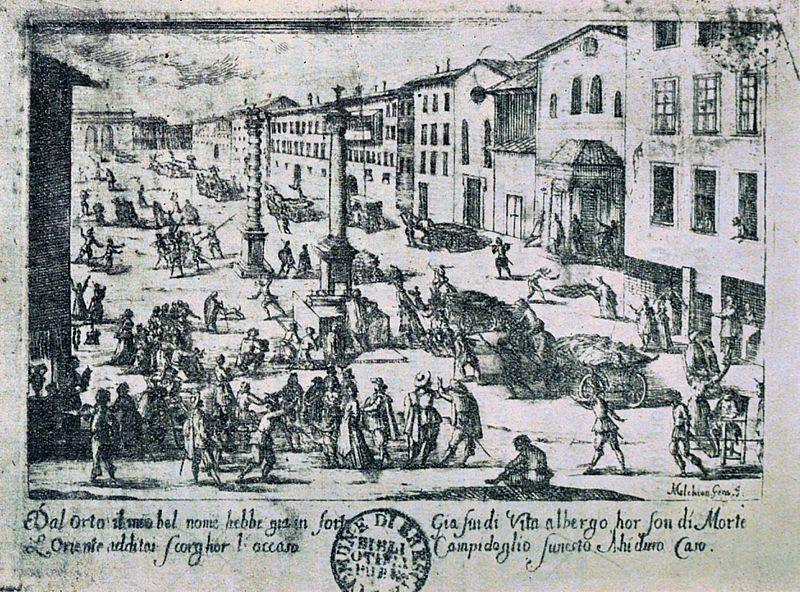 Melchiorre_Gherardini,_Piazza_di_S._Babila_durante_la_peste_del_1630