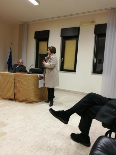 i relatori,la Preside Lidia Di Lorenzo