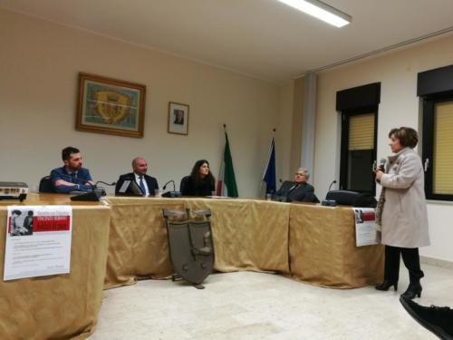 l'intervento della Preside Lidia Di Lorenzo
