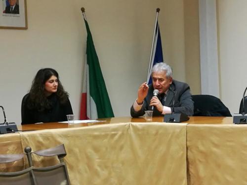 il Generale Angelo Di Salvatore e la Dottoressa Luisa Perna